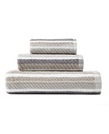 Tommy Bahama Ocean Bay Stripe Shark 3-Pc. Towel Set