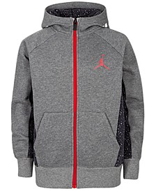Little Boys Speckle Zip-Up Hoodie, Created For Macy's