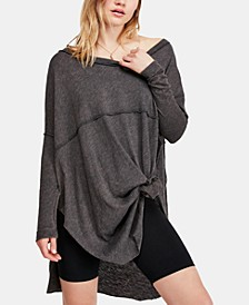 Tell Tale Seamed Boat-Neck Tunic