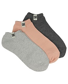 Steve Madden Women's 3-Pack Low-Cut Socks, Online Only