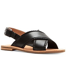 Frye Women's Robin Feather Flat Sandals