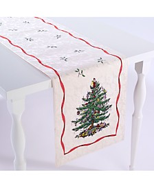 "Spode Christmas Tree 72"" Runner"