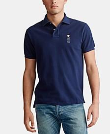 Men's Big & Tall Polo Bear Mesh Polo Shirt
