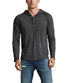 Silver Jeans Co. Kyles Long-Sleeve Hooded Henley