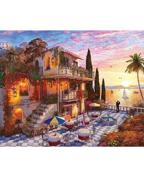 Springbok Puzzles Mediterranean Romance 1000 Piece Jigsaw Puzzle