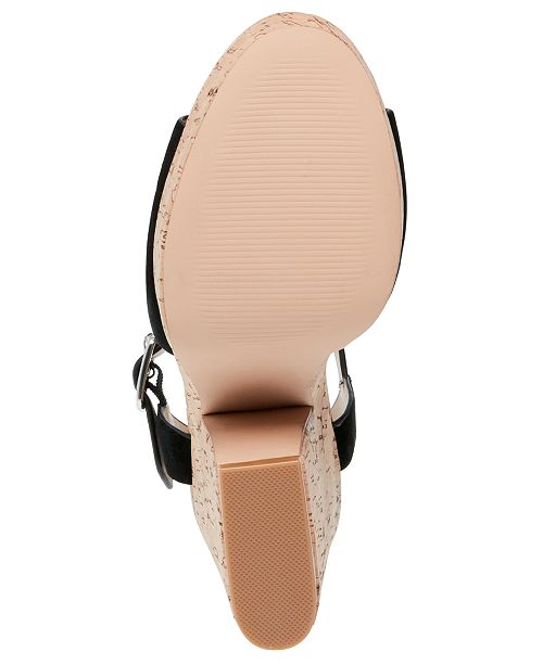 65810fd44b9 Women's Jess Cork Platform Sandals