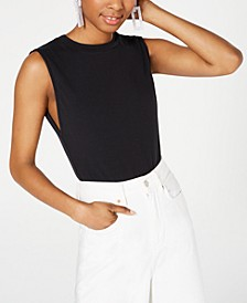 Juniors' Sleeveless Bodysuit, Created for Macy's