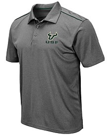 Colosseum Men's South Florida Bulls Eagle Polo