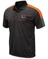huge discount 5353c 48f25 ... Top Rated, Best Sellers, New Arrivals. Colosseum Men s Miami Hurricanes  Color Block Polo