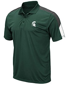 Men's Michigan State Spartans Color Block Polo