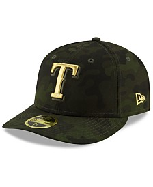 New Era Texas Rangers Armed Forces Day Low Profile 59FIFTY Fitted Cap