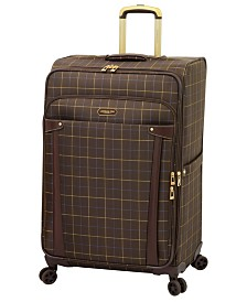 """London Fog Brentwood 29"""" Softside Spinner Suitcase, Created for Macy's"""