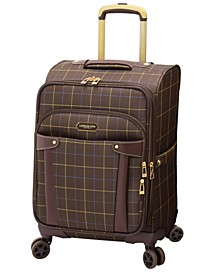 """Brentwood 20"""" Softside Carry-On Spinner Suitcase, Created for Macy's"""
