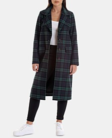 Plaid Walker Coat