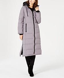 Oversized Hooded Maxi Puffer Coat