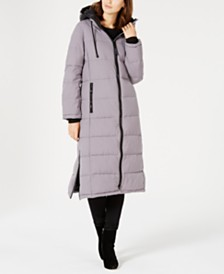 Vince Camuto Oversized Hooded Maxi Puffer Coat