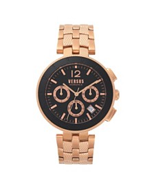 Versus Men's Rosegold Bracelet Watch 22mm