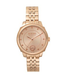 Versus Women's Rosegold Bracelet Watch 14mm