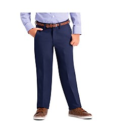 Haggar Boys Cool 18 Pro, Reg Fit, Flat Front Pant Size 8 - 20