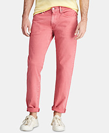 Polo Ralph Lauren Men's Relaxed Straight Stretch Hampton Five-Pocket Jeans