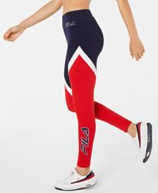 Fila Ivanna Colorblocked High-Waist Leggings