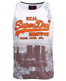 Superdry Men's Cityscape Logo Tank