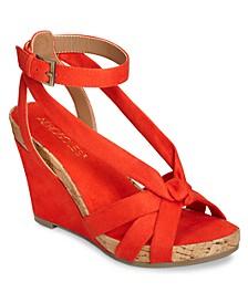 Fashion Plush Wedge Sandals