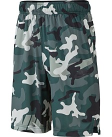 Nike Big Boys Dri-FIT Camo-Print Shorts