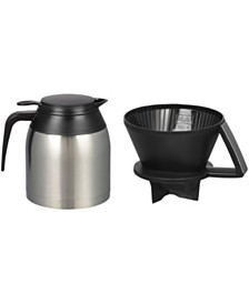 Melitta 64104 Pour Over Thermal Carafe, 8 Cup
