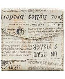Reiti Newspaper Print Wallet