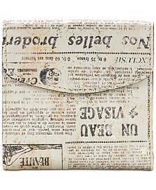Patricia Nash Reiti Newspaper Print Wallet