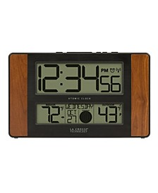 Atomic Digital Clock with Temperature and Moon Phase