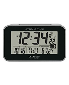 Atomic Digital Alarm clock with Temperature
