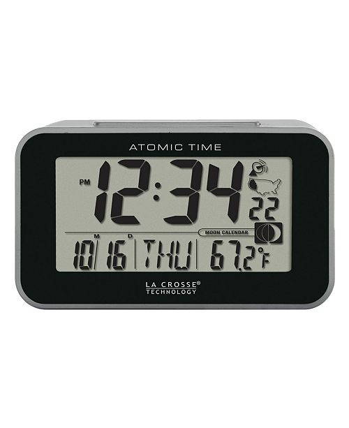 La Crosse Technology Atomic Digital Alarm clock with Temperature