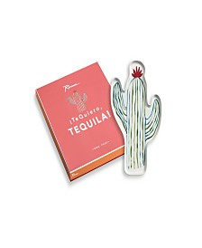 Te Quiero, Tequila! Shaped Cactus Tray