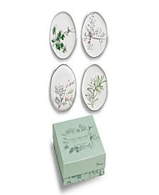A Walk in the Woods - Appetizer Plates Set of 4