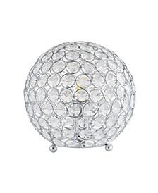 "Gemma 8.25"" Acrylic/Metal LED Table Lamp"