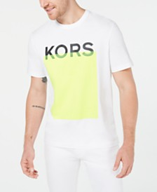 Michael Kors Men's Logo Block Graphic T-Shirt