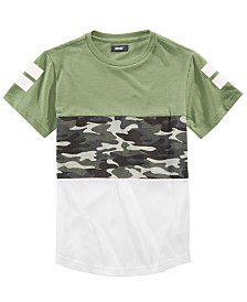 Univibe Big Boys Slope Pieced Colorblocked T-Shirt