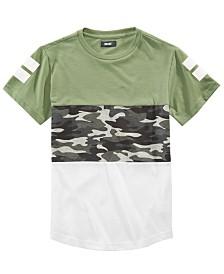 Univibe Big Boys Slope Pieced Colorblocked T-Shirt