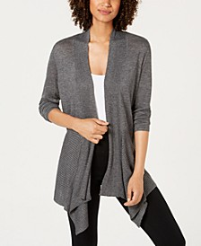 INC Ribbed Cozy Cardigan, Created for Macy's