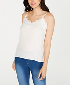 Thalia Sodi Lace-Trim Camisole, Created for Macy's