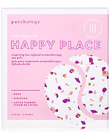 Moodpatch Happy Place Inspiring Tea-Infused Aromatherapy Eye Gels