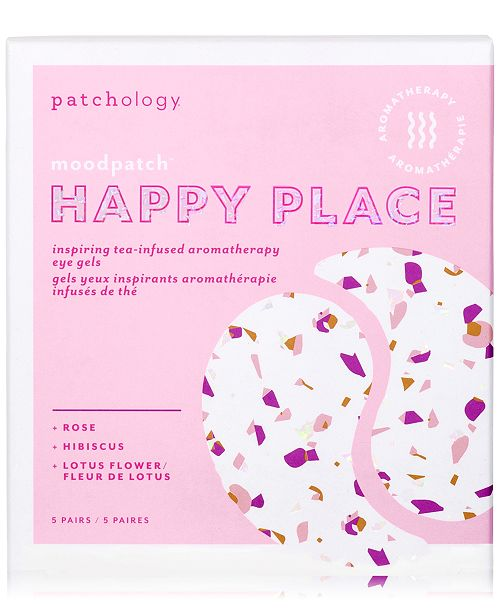 Patchology Moodpatch Happy Place Inspiring Tea-Infused Aromatherapy Eye Gels