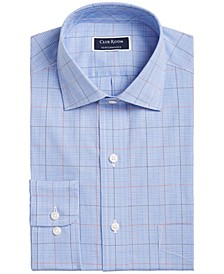 Men's Classic/Regular Fit Printed Dress Shirt, Created for Macy's