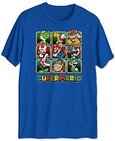 Super Mario Golden Box Men's Graphic T-Shirt