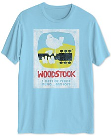 Woodstock Poster Men's Graphic T-Shirt