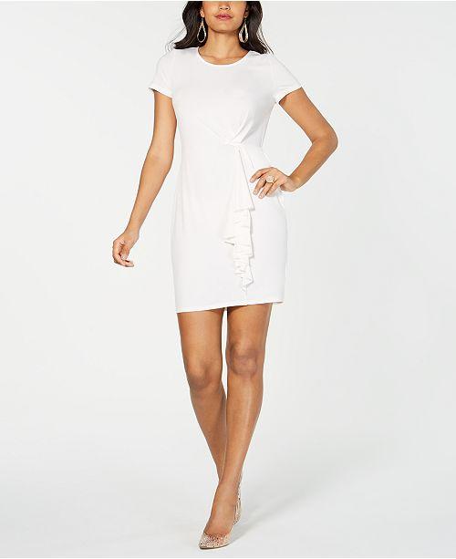 Thalia Sodi Asymetrical Ruffle Dress, Created for Macy's