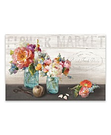 French Cottage Bouquet Iii Printed Canvas