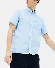 Men's Linen Pocket Shirt